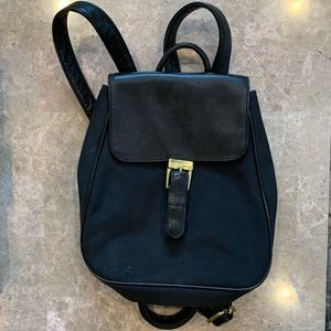 Ralph Lauren Black Backpack